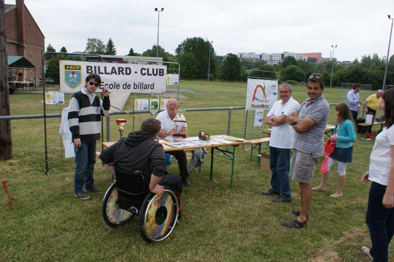 Billard club fête des assoc 2015