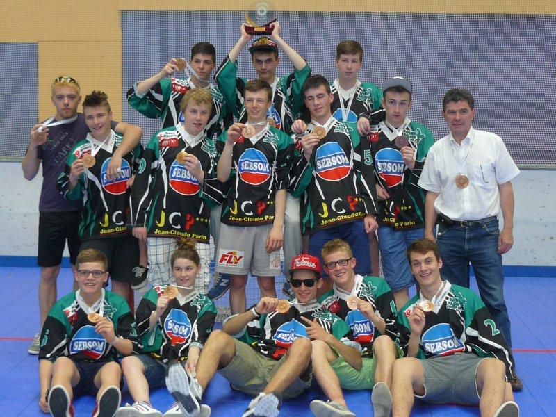 ROLLER HOCKEY- Cadets à Nice 2013