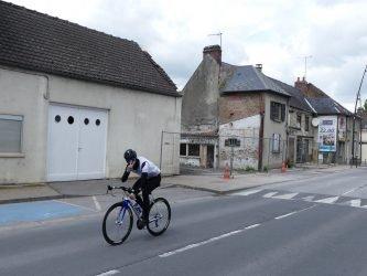 travaux route de Rouen